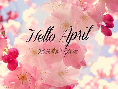 Nở nụ cười chào đón tháng tư