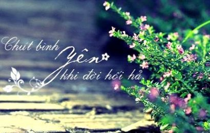 BÌNH YÊN ĐÓ ĐÂU CẦN CHI LỚN RỘNG