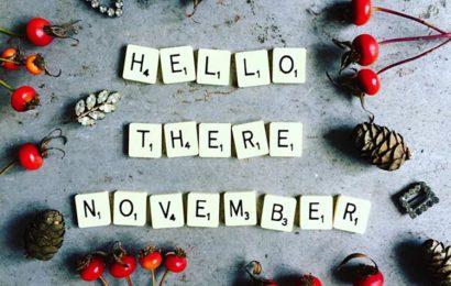 Tháng mười một về