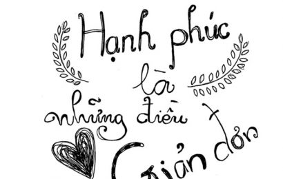 HẠNH PHÚC NHỎ NHOI
