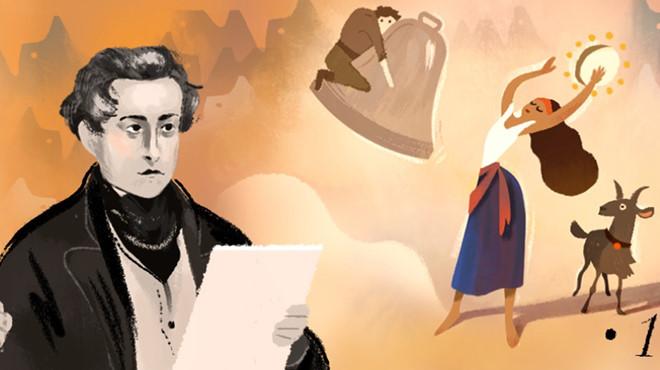 Chuyện… tình của nhà thơ Victor Hugo
