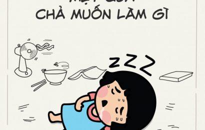 Hôm nay mình rất mệt