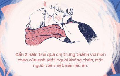 """Bát cháo trắng tặng vợ ngày Valentine của chồng Giám đốc và câu chuyện """"thức tỉnh"""" đàn ông: Món quà giá trị nhất ở trong tâm"""