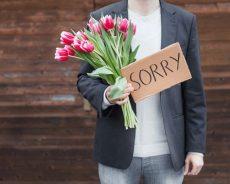 Anh xin lỗi